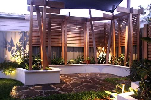 Landscape design for Contemporary residential Garden makeover
